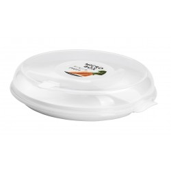 PLAST1 Mikro tallerken m/låg Ø 23 cm