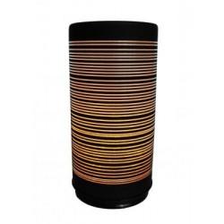 CONZEPT Cylinder flammeeffekt mønster 15 cm