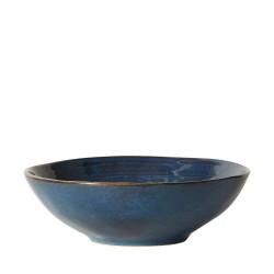 DACORE Skål stentøj 24x7 cm blå