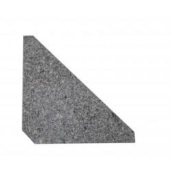 Parasolfod i granit til hængeparasol sæt á 4 stk