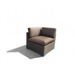 Vita lux hjørnemodul til sofasæt - brun