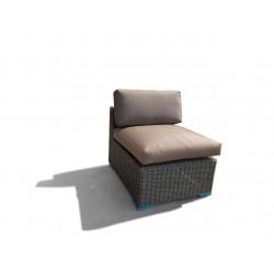 Vita lux midt-modul til sofasæt - brun