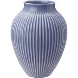 KNABSTRUP Vase 27 cm - lavendelblå med riller