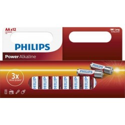 "PHILIPS Batterier ""aa"" 12 pk"