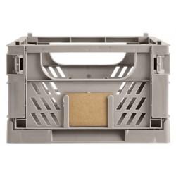 DAY Opbevaringskasse foldbar 33x24,5x15 cm flint grey