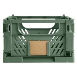 DAY Opbevaringskasse foldbar 33x24,5x15 cm dill green