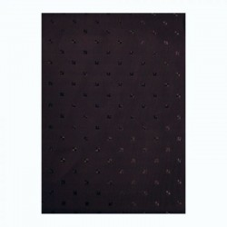 CONZEPT Badeforhæng sort 180x220 cm