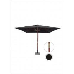 HOFFMANN Parasol nice 3 x 3 meter - sort