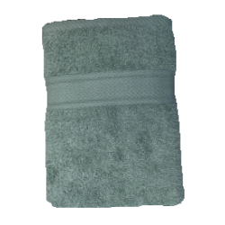 CONZEPT Håndklæde 70 x 140 cm - støvet grøn