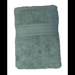 CONZEPT Håndklæde 90 x 180 cm - støvet grøn