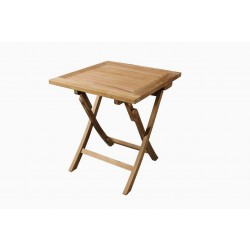TEAK Cafebord 70 x 70 cm - mondena (Forudbestil og få leveret i foråret 2022)