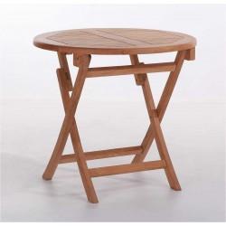 TEAK Cafebord Ø 66 cm - mondena