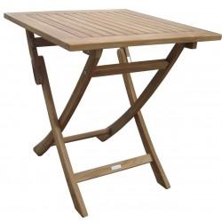"""TEAK Luksus cafébord 70 x 70 cm """"boston"""" (forudbestilling - Bestil nu og få leveret i foråret 2022)"""